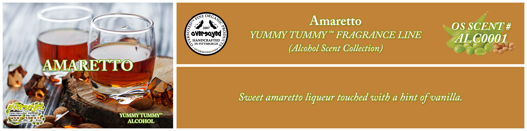 Amaretto Handcrafted Products Collection