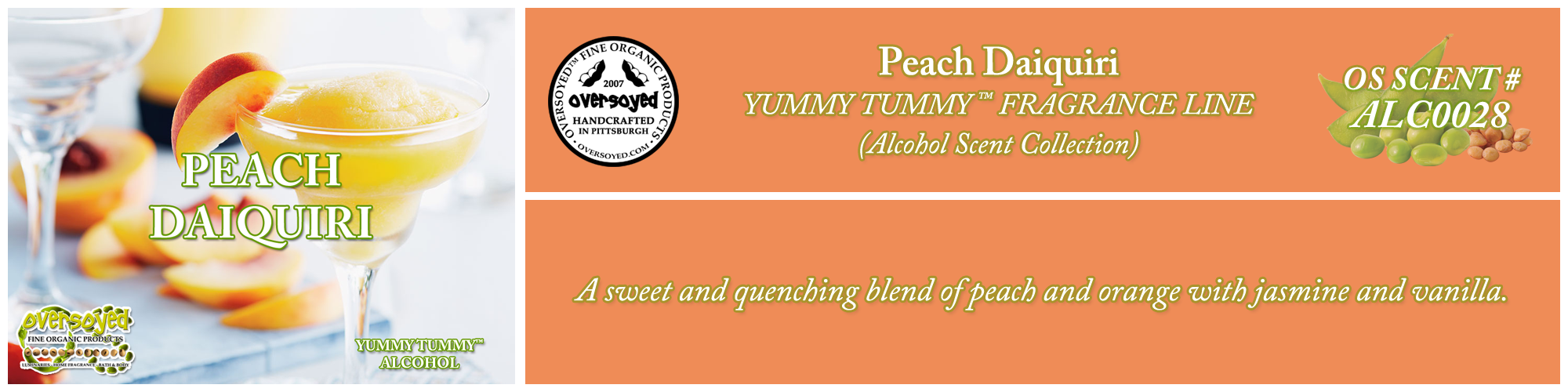 Peach Daiquiri Handcrafted Products Collection