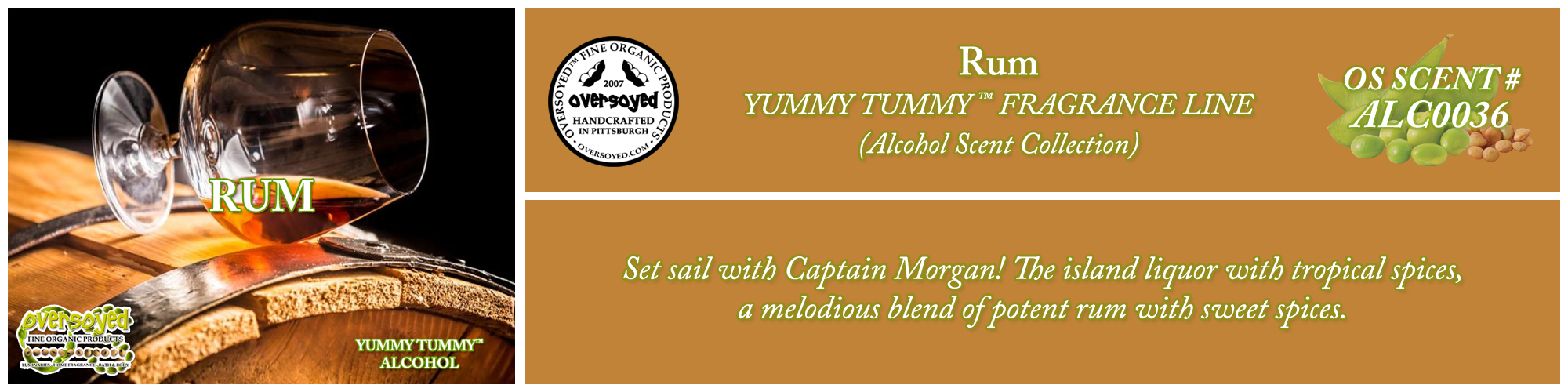 Rum Handcrafted Products Collection