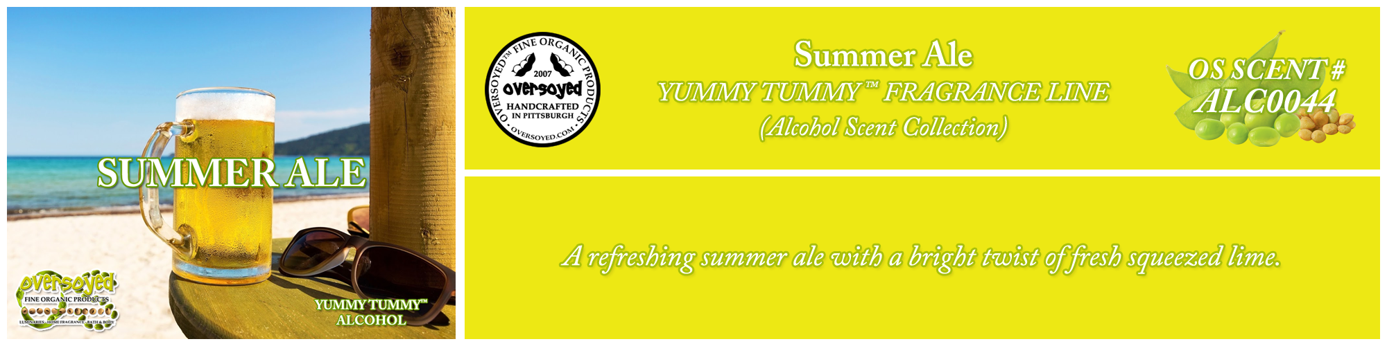 Summer Ale Handcrafted Products Collection