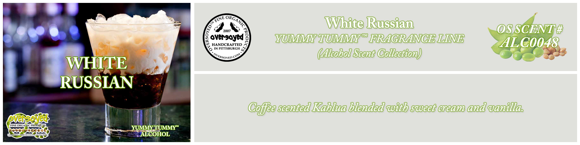 White Russian Handcrafted Products Collection