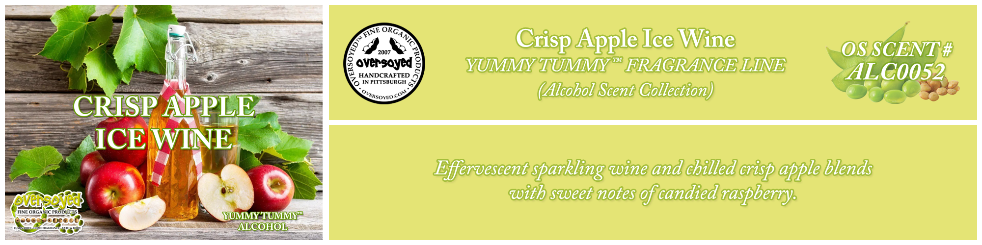 Crisp Apple Ice Wine Handcrafted Products Collection