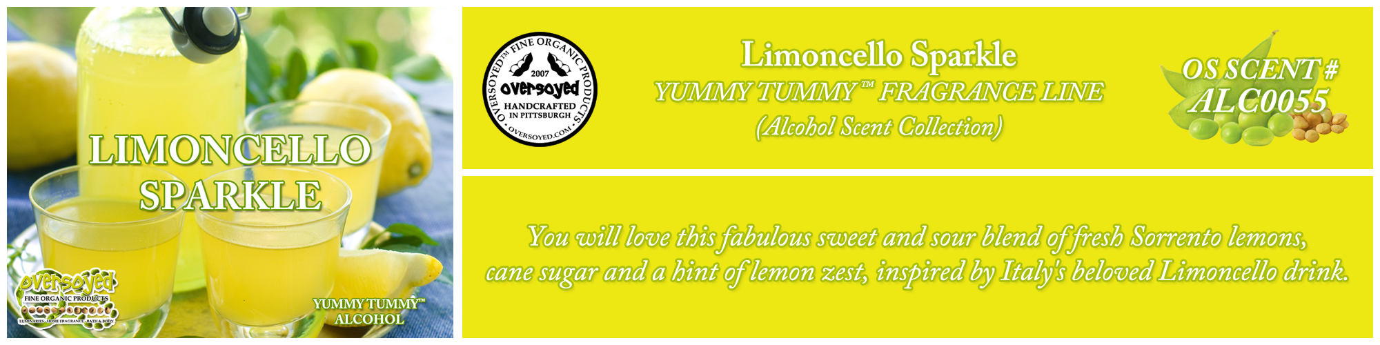 Limoncello Sparkle Handcrafted Products Collection