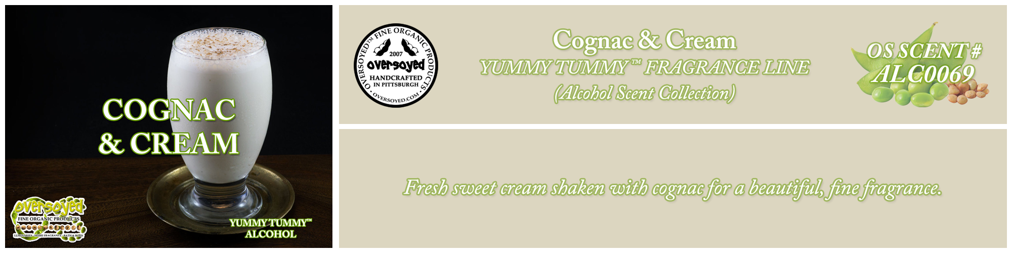 Cognac & Cream Handcrafted Products Collection
