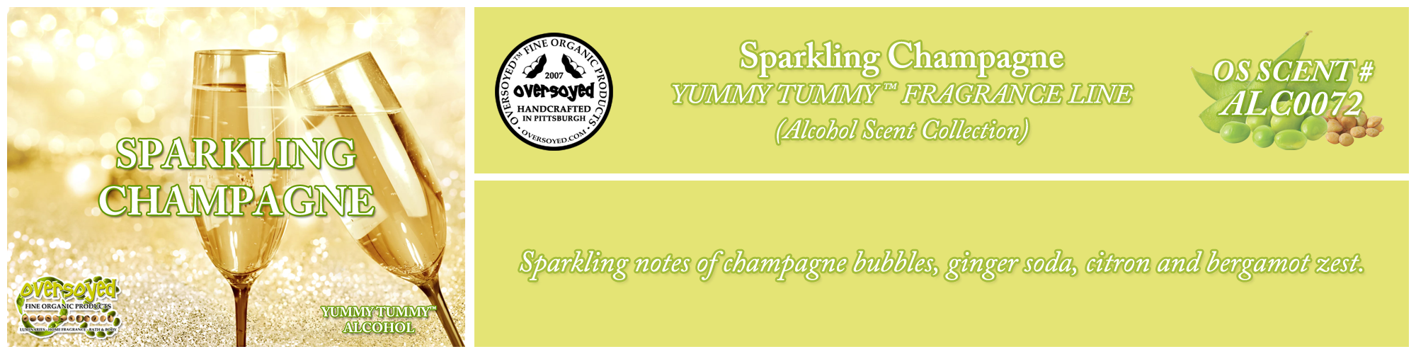 Sparkling Champagne Handcrafted Products Collection