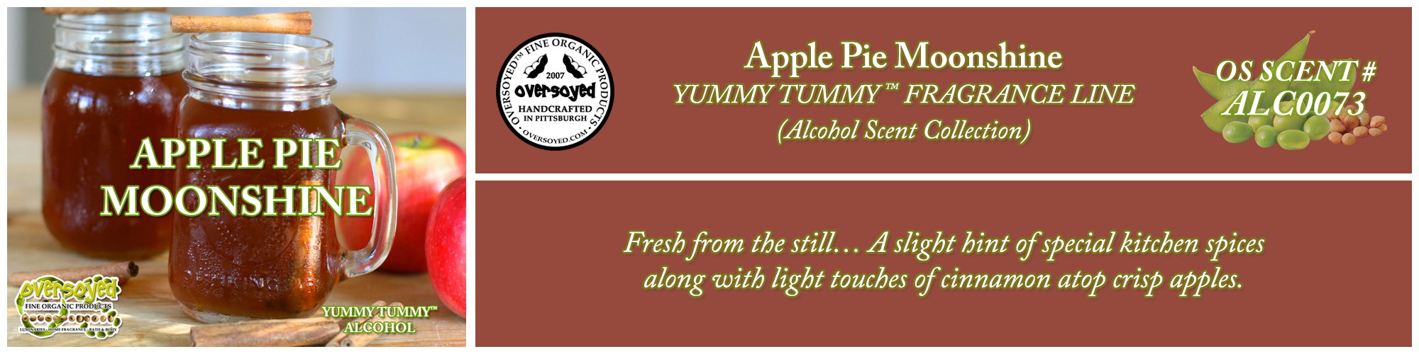 Apple Pie Moonshine Handcrafted Products Collection