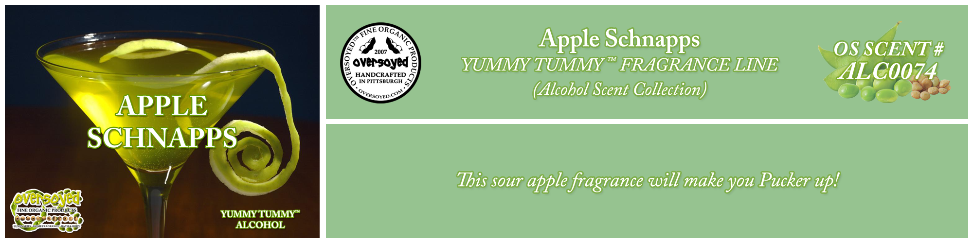 Apple Schnapps Handcrafted Products Collection