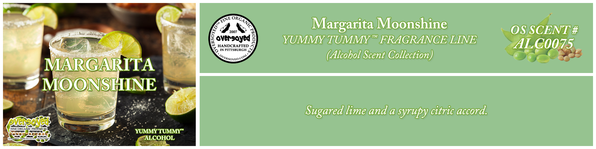 Margarita Moonshine Handcrafted Products Collection
