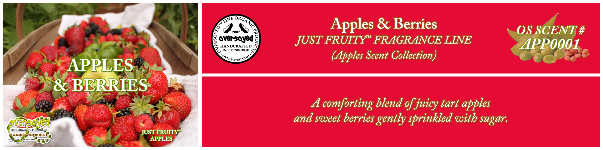 Apples & Berries Handcrafted Products Collection