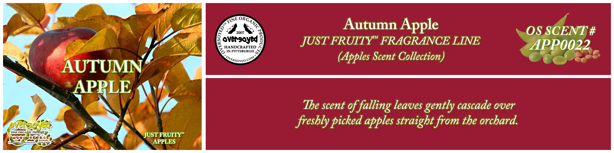 Autumn Apple Handcrafted Products Collection