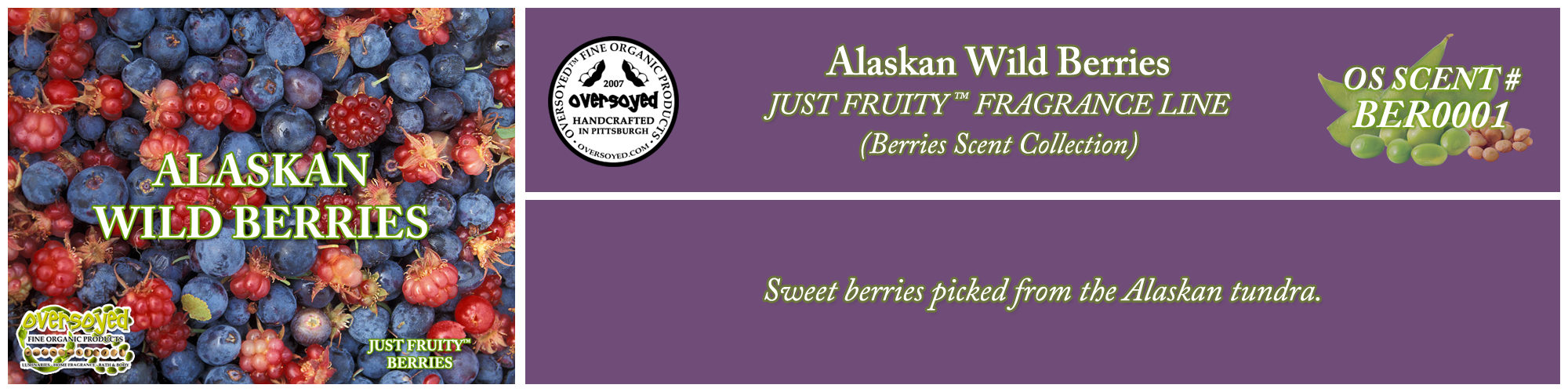Alaskan Wild Berries Handcrafted Products Collection