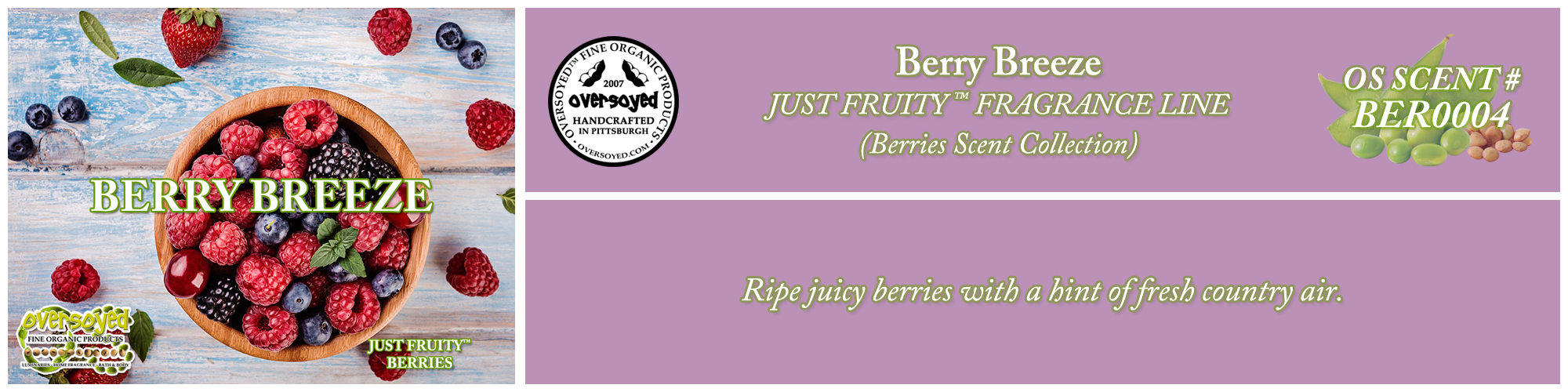 Berry Breeze Handcrafted Products Collection