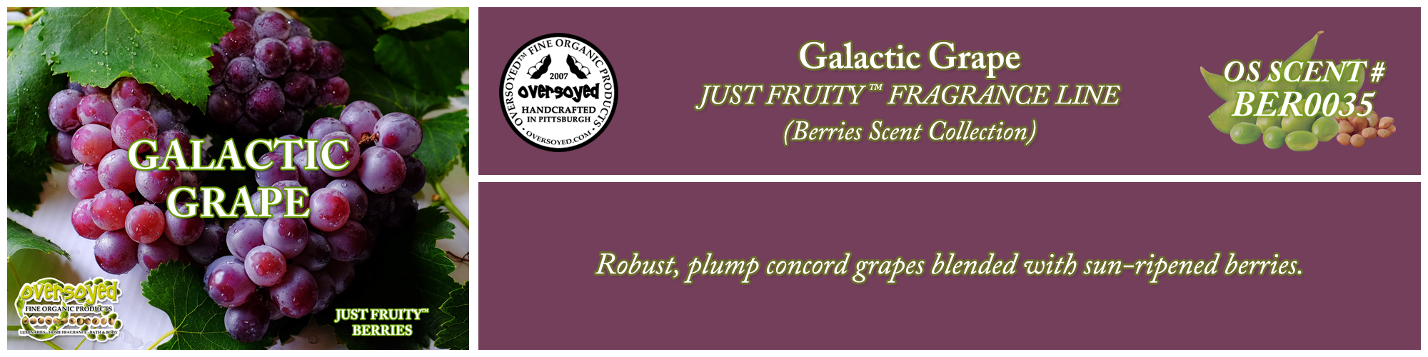 Galactic Grape Handcrafted Products Collection