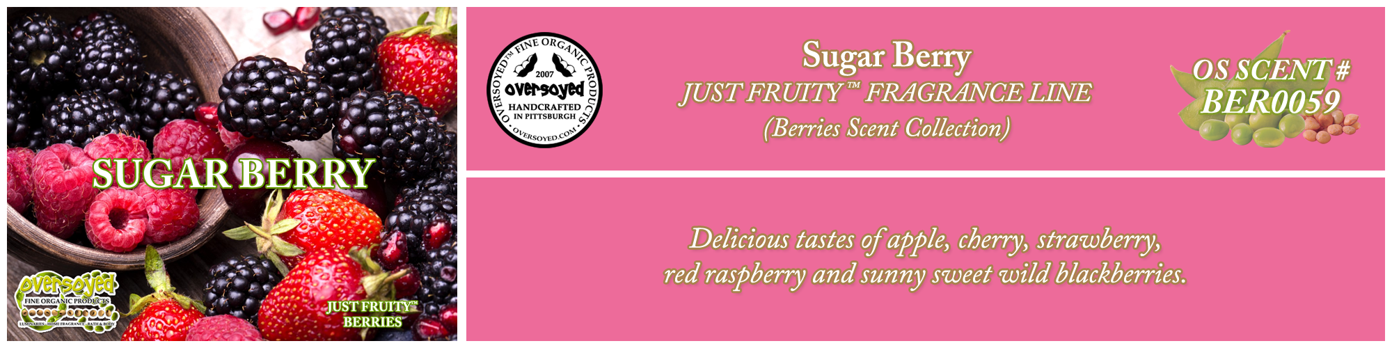 Sugar Berry Handcrafted Products Collection