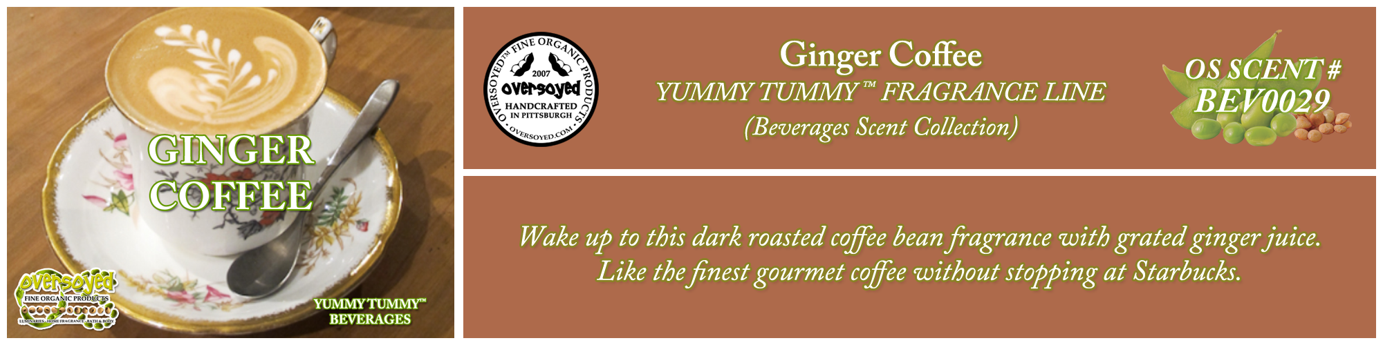 Ginger Coffee Handcrafted Products Collection