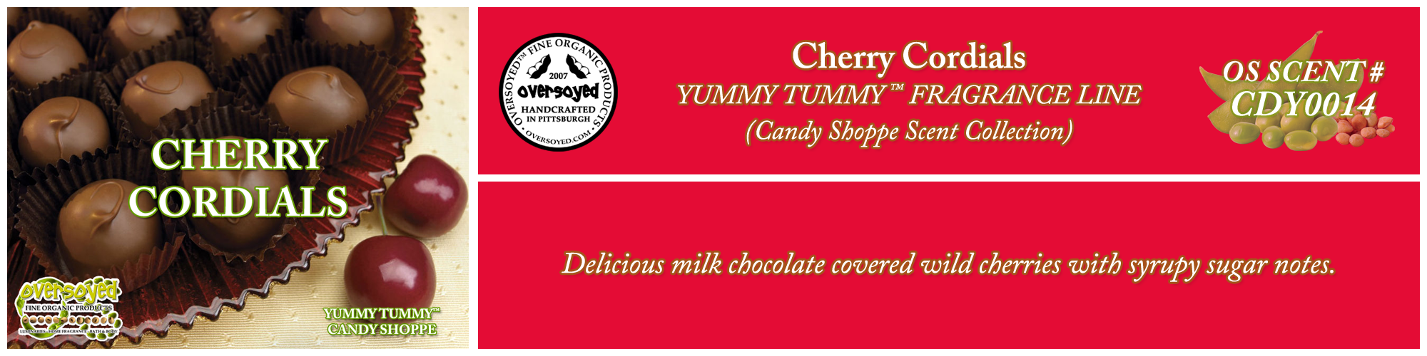 Cherry Cordials Handcrafted Products Collection