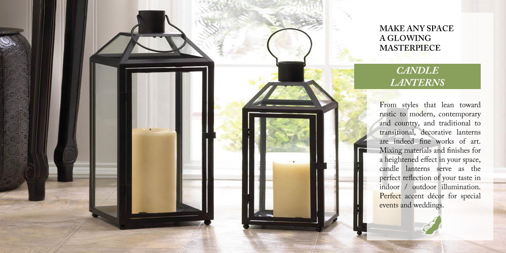 OverSoyed Fine Organic Products - Candle Lanterns