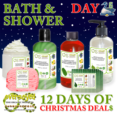 OverSoyed 12 Days of Deals - Bath & Shower Care