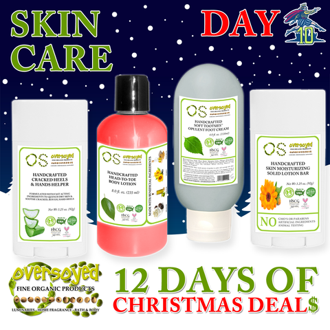 OverSoyed 12 Days of Deals - Skin Care