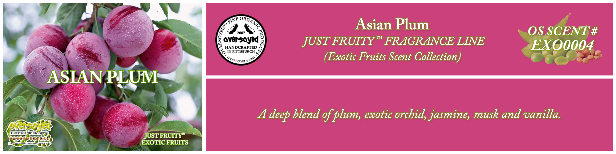 Asian Plum Handcrafted Products Collection