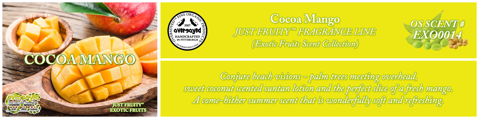 Cocoa Mango Handcrafted Products Collection
