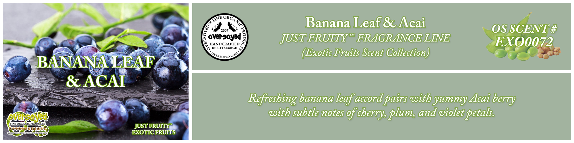 Banana Leaf & Acai Handcrafted Products Collection