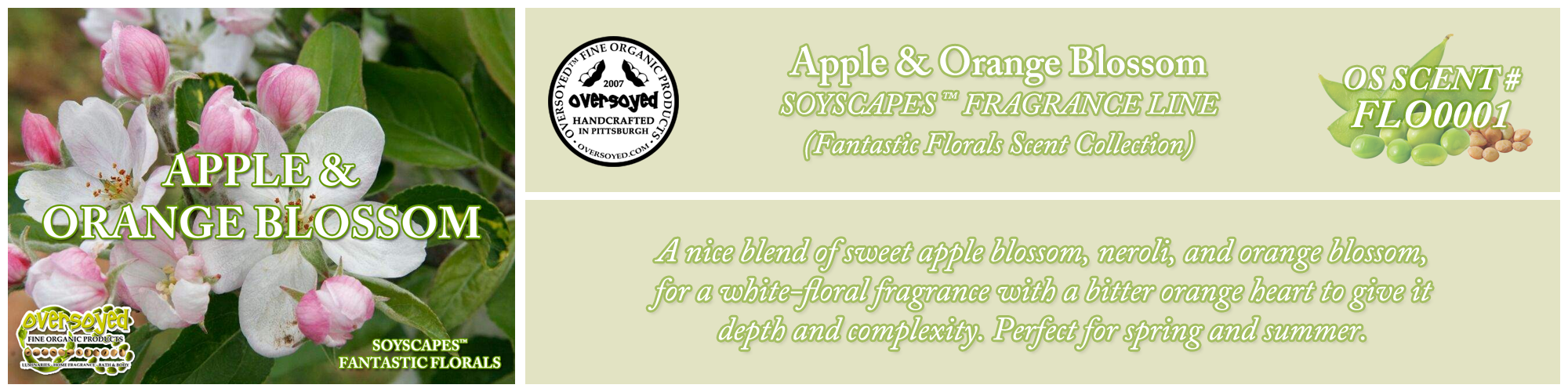 Apple & Orange Blossom Handcrafted Products Collection