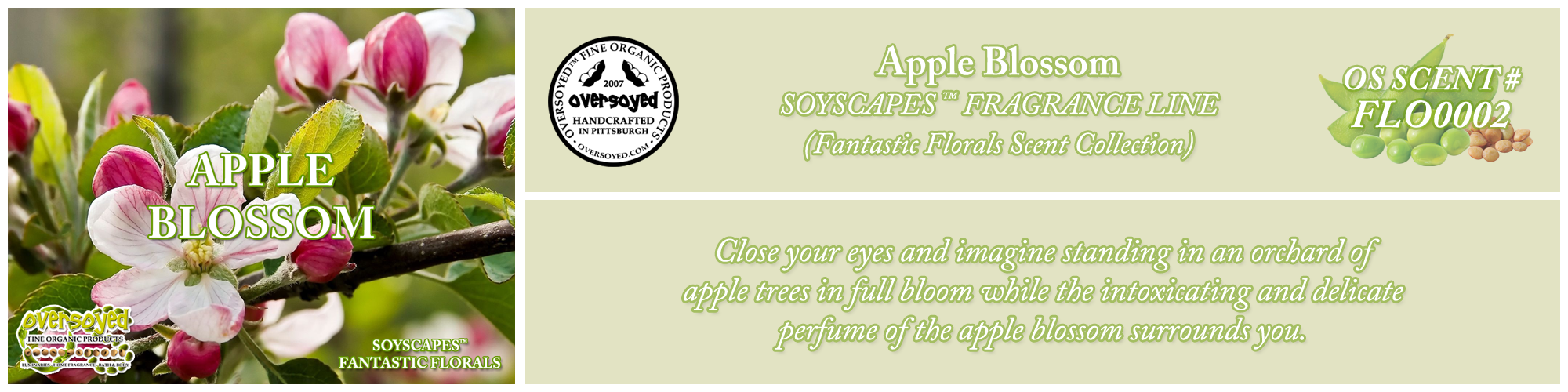 Apple Blossom Handcrafted Products Collection