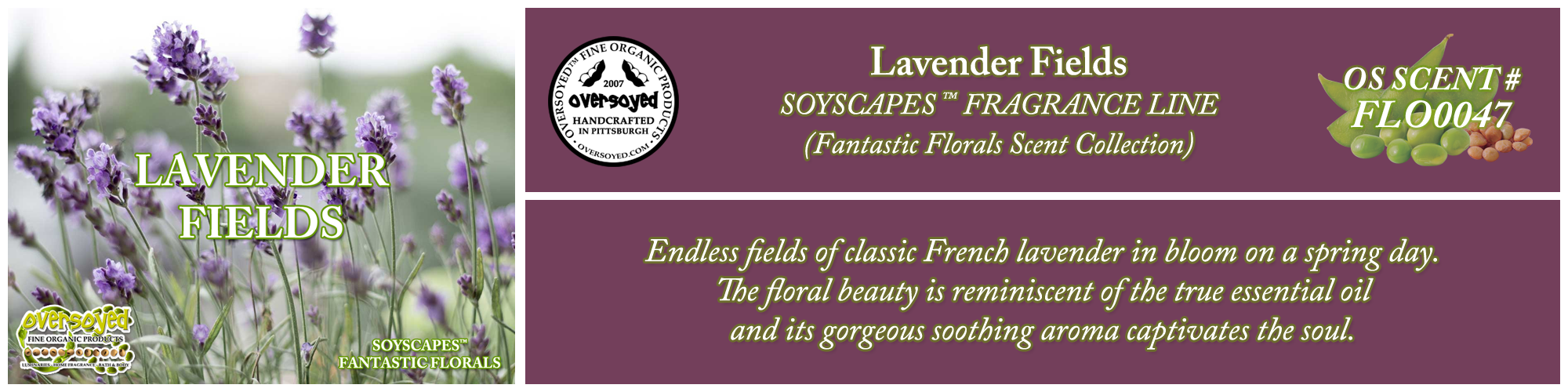 Lavender Fields Handcrafted Products Collection