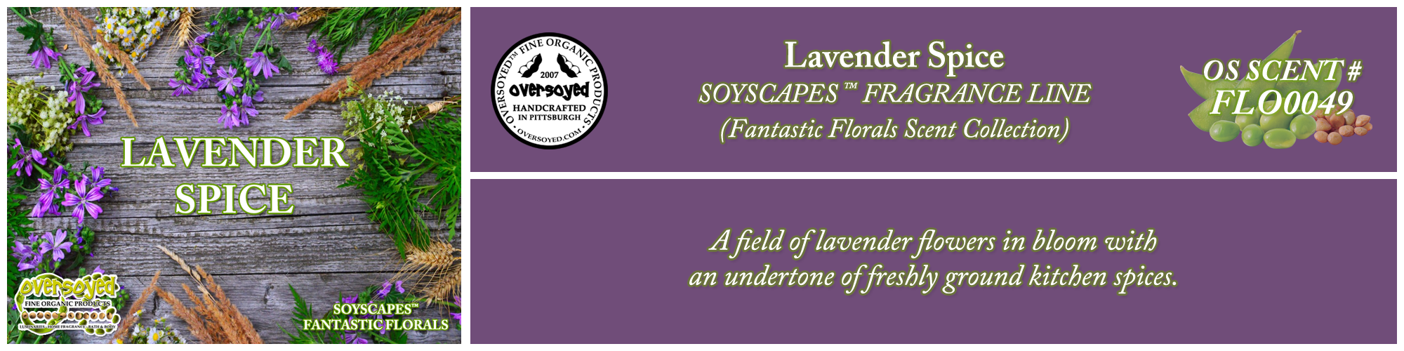 Lavender Spice Handcrafted Products Collection