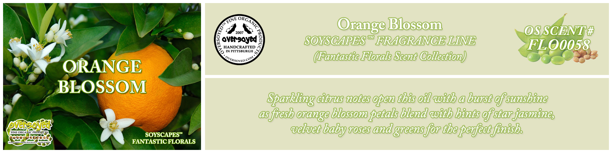Orange Blossom Handcrafted Products Collection