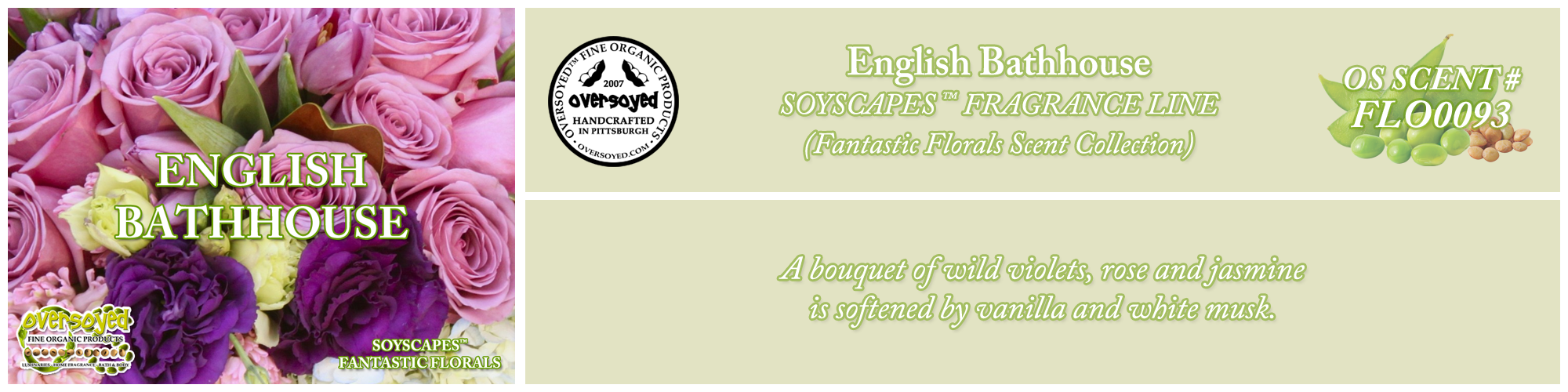 English Bathhouse Handcrafted Products Collection