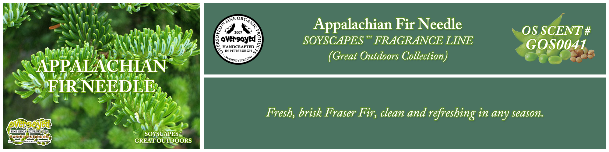 Appalachian Fir Needle Handcrafted Products Collection