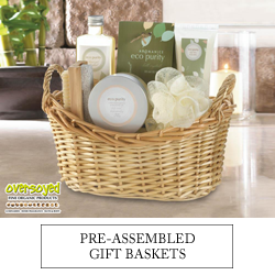 OverSoyed Fine Organic Products - Pre-Assembled Spa Gift Baskets
