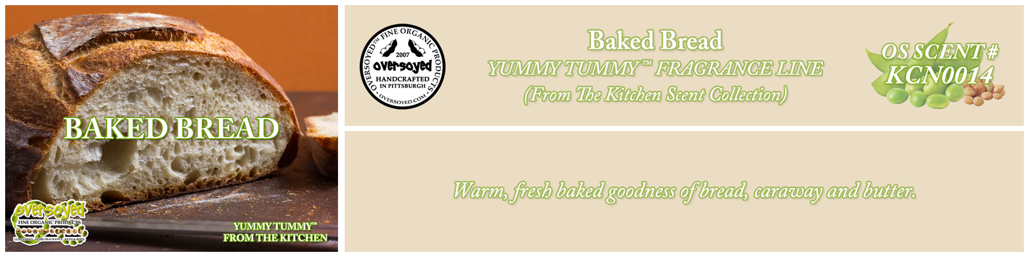Baked Bread Handcrafted Products Collection