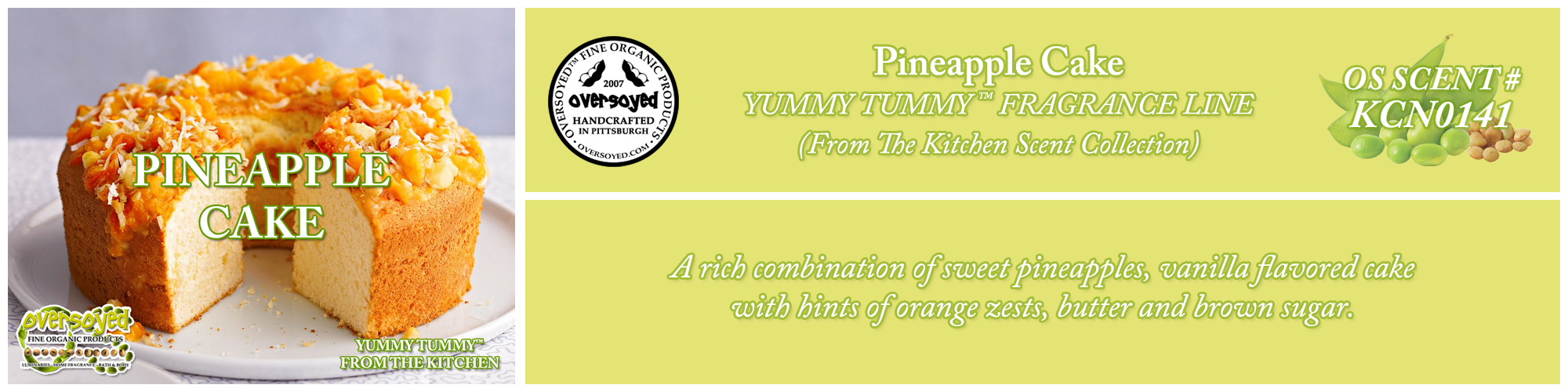 Pineapple Cake Handcrafted Products Collection