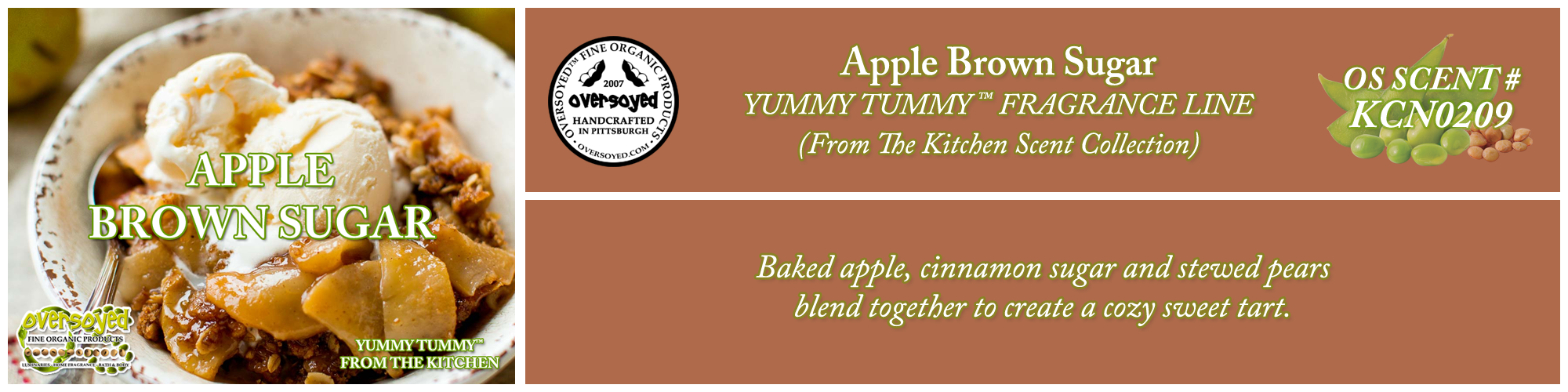 Apple Brown Sugar Handcrafted Products Collection