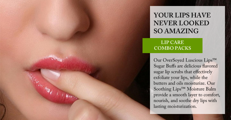 OverSoyed Fine Organic Products - All Natural Lip Care Combo Sets