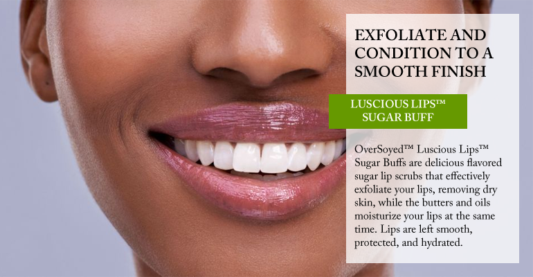 OverSoyed Fine Organic Products - Luscious Lips Sugar Buff