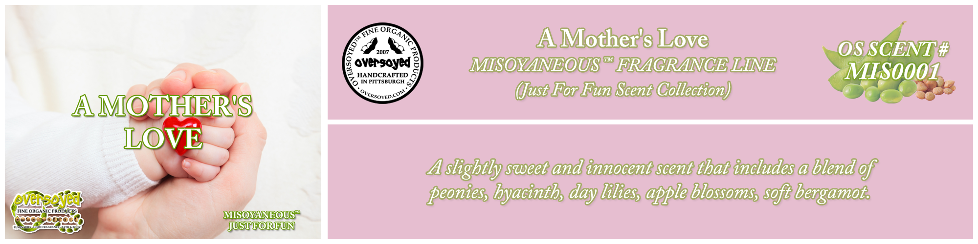 A Mother's Love Handcrafted Products Collection