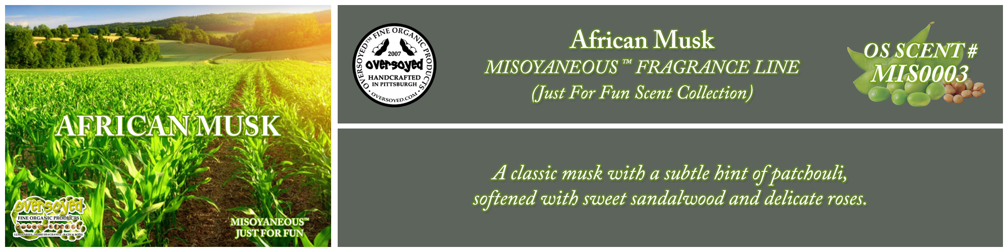 African Musk Handcrafted Products Collection