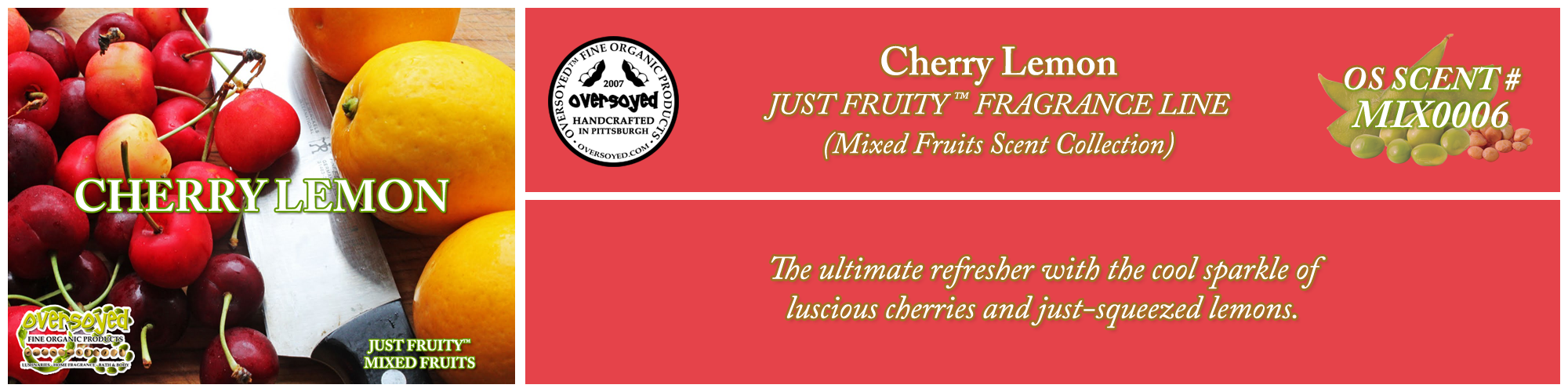 Cherry Lemon Handcrafted Products Collection