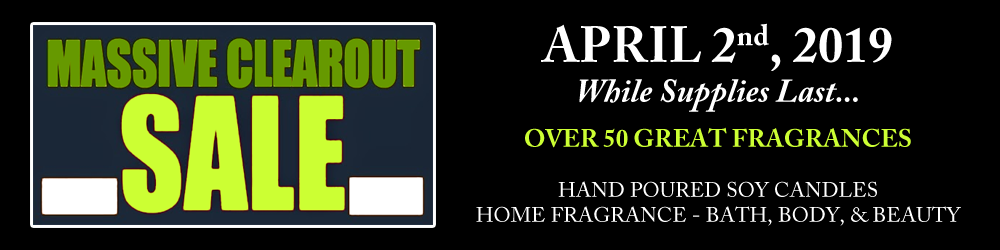 OverSoyed Fine Organic Products - Massive Inventory Clearance Sale - April 2, 2019