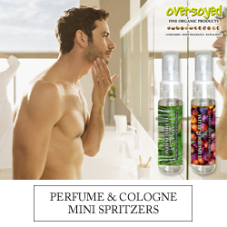 OverSoyed Fine Organic Products - Mini Spritzer Fragrances