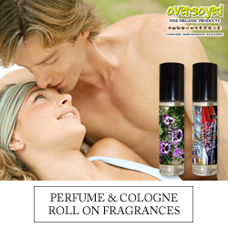OverSoyed Fine Organic Products - Perfume & Cologne Roll On Fragrances