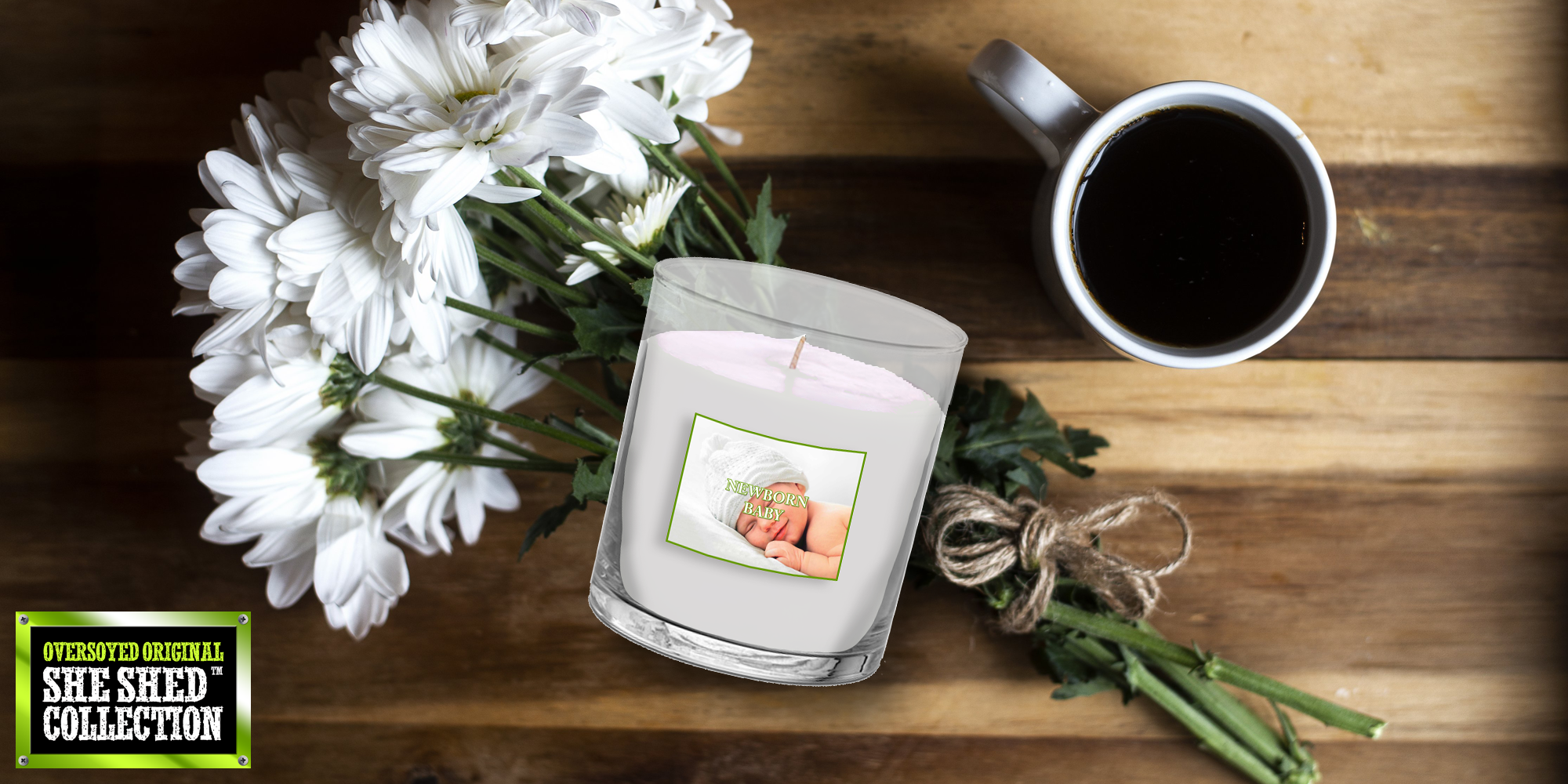 OverSoyed™ Original She Shed™ Women Candle Collection Mini Sets