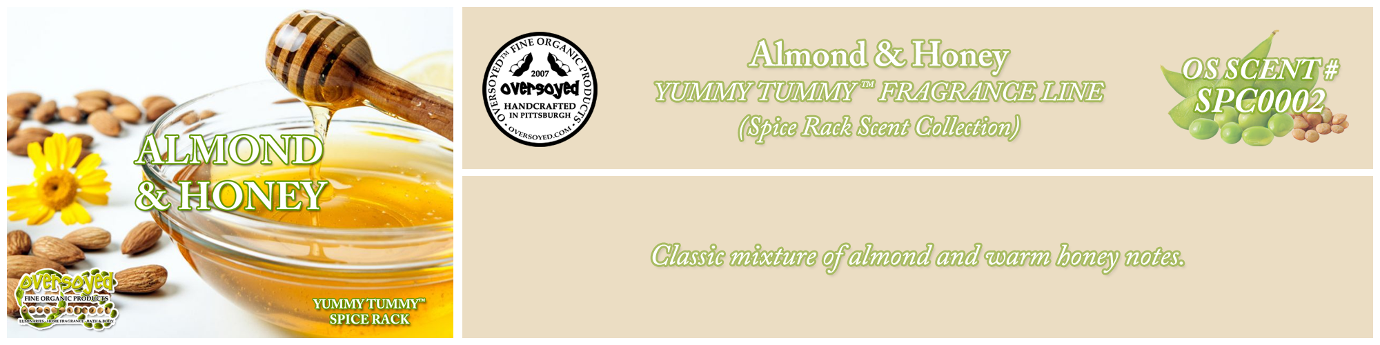 Almond & Honey Handcrafted Products Collection