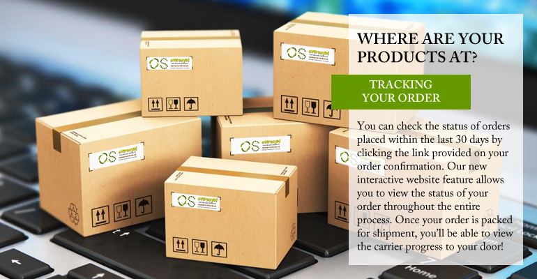 OverSoyed Fine Organic Products - Track Your Order