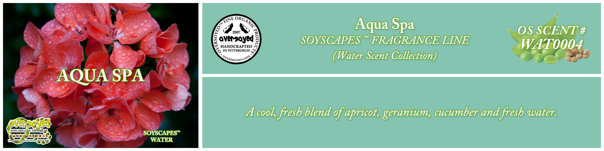 Aqua Spa Handcrafted Products Collection