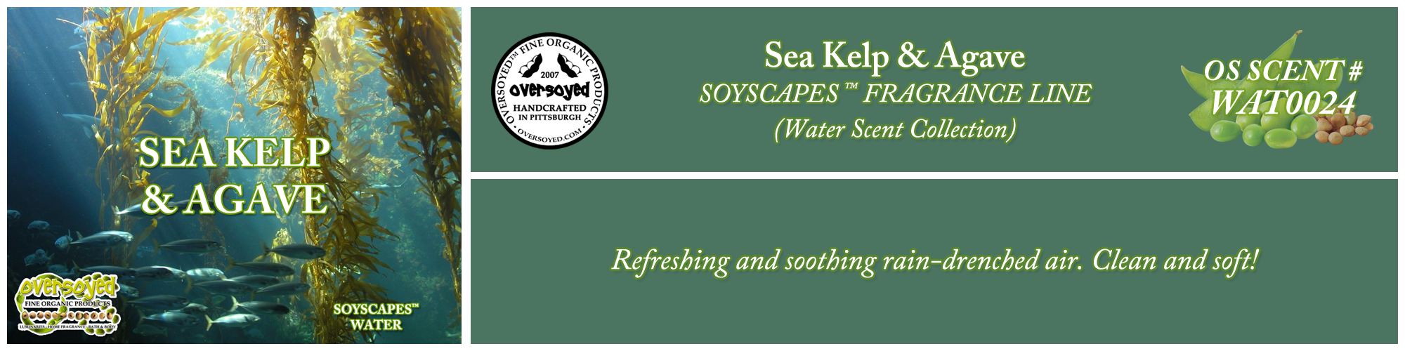 Sea Kelp & Agave Handcrafted Products Collection